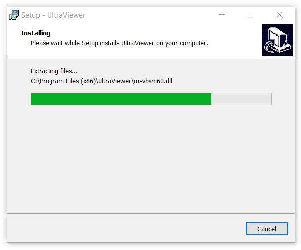 Quá trình cài đặt UltraViewer