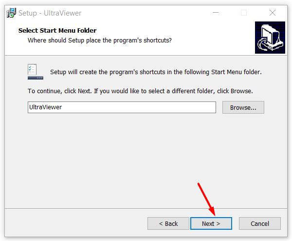 Thay đổi đường dẫn cài đặt UltraViewer