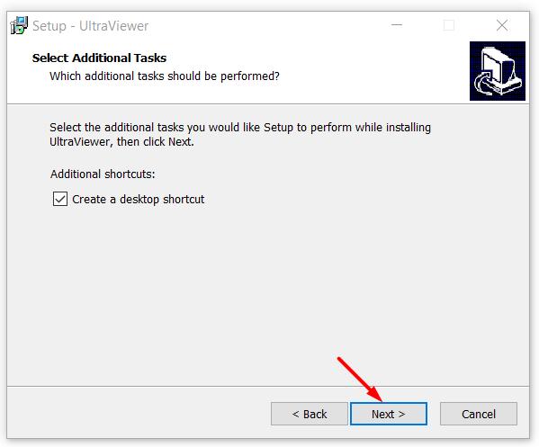 Tạo Shortcut UltraViewer