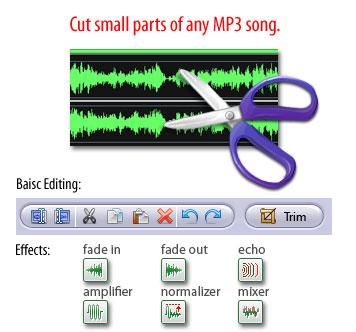 MP3 Cutter phần mềm cắt nhạc miễn phí