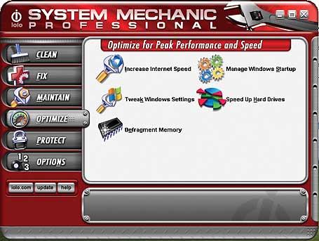 System Mechanic giải pháp tối ưu hóa nhanh chóng mạnh mẽ