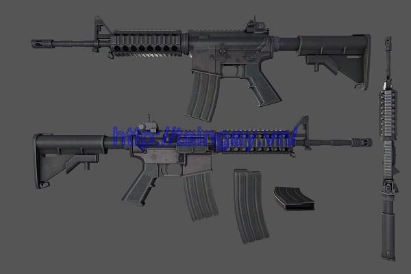 M4A1 gun