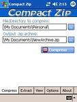 Compact ZIP Utility for Pocket PC 1.5.2 - Phần mềm nén và giải nén file