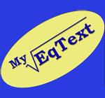 MyEqText 3.0 - Phần mềm soạn thảo công thức toán học cho PC