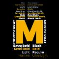 Font Montserrat - Phông chữ nghệ thuật đẹp mắt cho thiết kế đồ họa