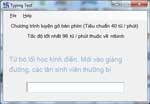 Typing Test - Luyện gõ bàn phím cho PC