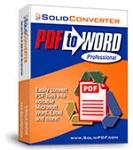 Solid Converter PDF to Word 8.0 (build 18) - Chuyển đổi tập tin từ PDF sang Word cho PC