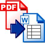 Free PDF to Word Doc Converter 1.1 - Chuyển đổi PDF sang Word miễn phí cho PC