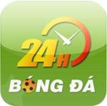 Bóng đá 24h for iOS 1.0.3 - Cập nhật kết quả bóng đá cho iphone/ipad