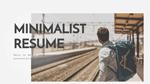 MINIMALIST RESUME - Mẫu Powerpoint đẹp để giới thiệu bản thân