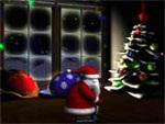 3D Santa Screensaver 1.0 - Giao diện màn hình noel cho PC