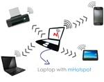 mHotspot 6.4 - Biến máy tính thành trạm phát sóng Wi-Fi