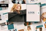 LOOK - Mẫu Powerpoint phục vụ cho thời trang