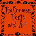 Halloween Fonts - Bộ font chữ Halloween