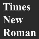 Times New Roman Font - Bộ Font chữ chuẩn thường sử dụng