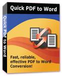 Quick PDF to Word 3.0 - Phần mềm chuyển đổi PDF sang Word cho PC