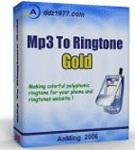 MP3 To Ringtone Gold 7.27 - phần mềm chuyển đổi nhạc chuông